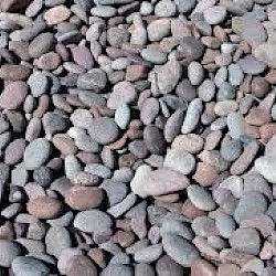 Red Mexican Beach Pebbles