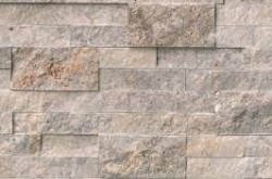 "Silver Travertine Panel 6""x24"""