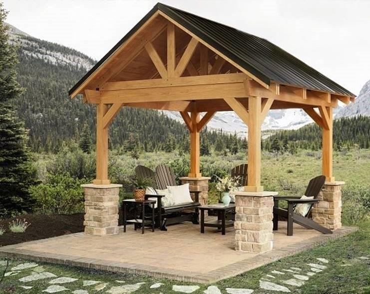 Timber Frame Kits - Harken's Landscape Supply & Garden ...