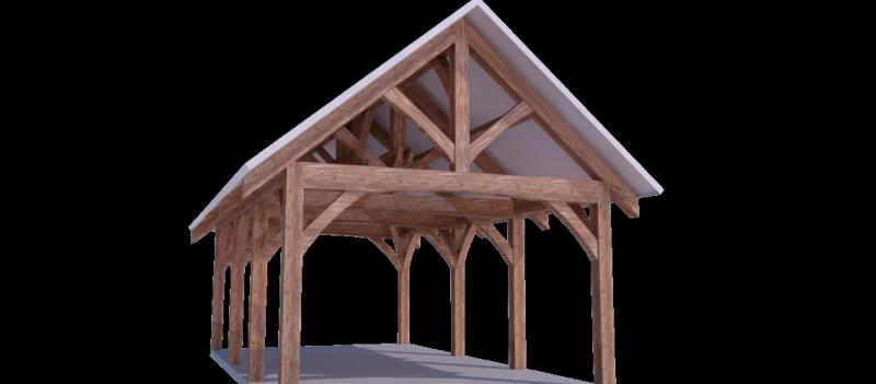 Timber Frame Kits - Harken\'s Landscape Supply & Garden Center - East ...