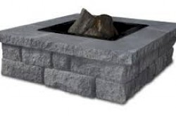 Genest Granite Blend Square Fire Pit