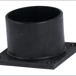 Lantern Post Mount Black