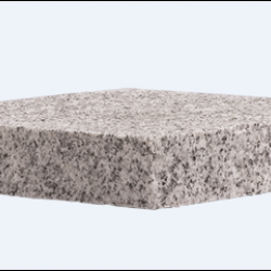 "Cap Granite NH Gray 8""x8""x2"""