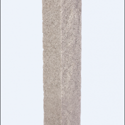 "Post: NH Gray 8""x8""x7' Rock 2 Sides Thermal 2 Sides"
