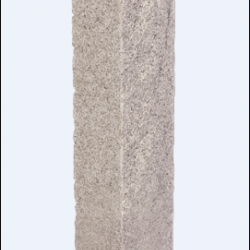 "Post-NH Gray 6""x6""x7' Granite Post Rock 2 Sides Thermal 2 Sides"