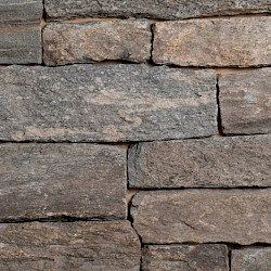 Old New England Wall Ashlar Corner