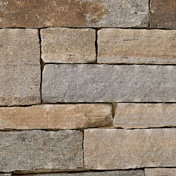 Colonial Tan Ashlar Corner